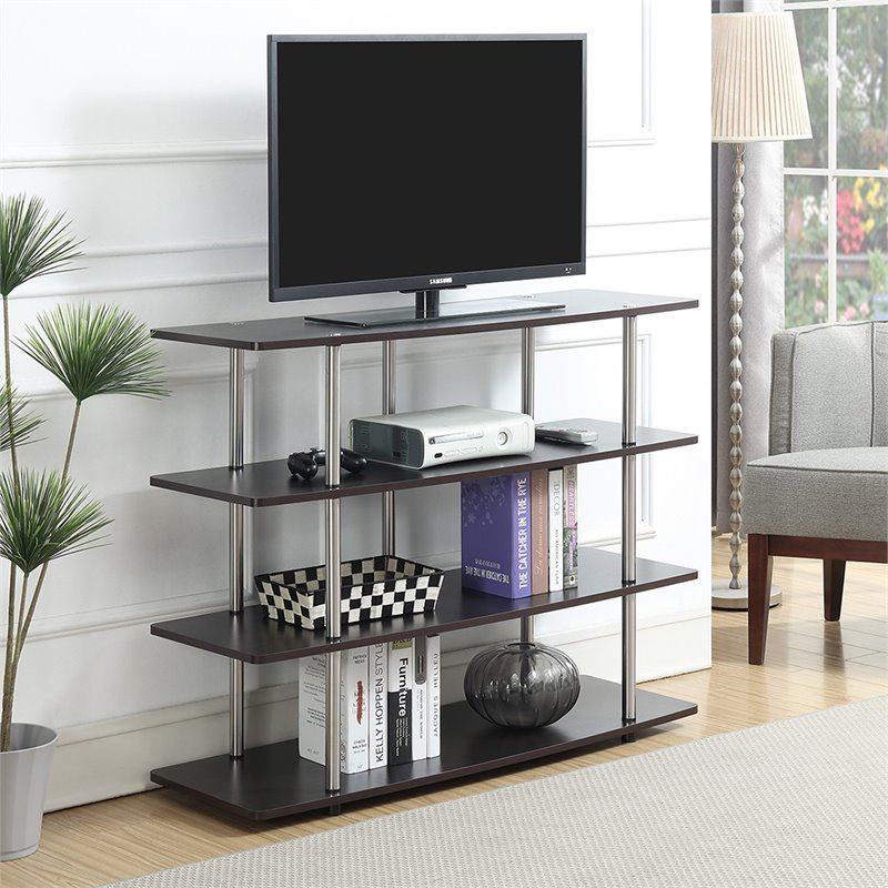 Convenience Concepts Designs2go Highboy 48 Tv Stand In Espresso