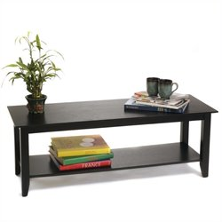 Convenience Concepts American Heritage Coffee Table in Black
