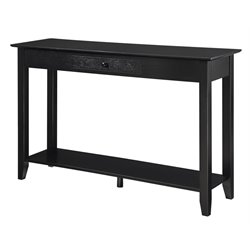 Convenience Concepts American Heritage Console Table in Black