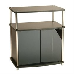 Convenience Concepts Designs2Go™ TV Stand with Cabinet in Black