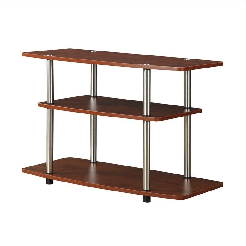Convenience Concepts Designs2Go 3 Tier TV Stand - Cherry