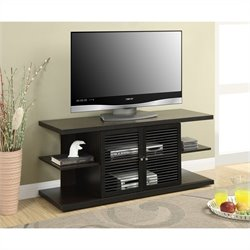 E. Hampton TV Stand - Espresso-Black