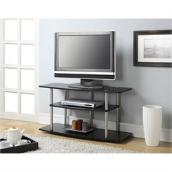 3 Tier Wide TV Stand - Espresso