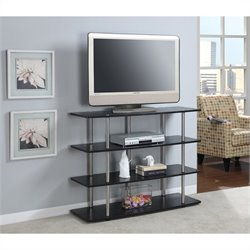 Convenience Concepts Designs2Go XL Highboy TV Stand - Black