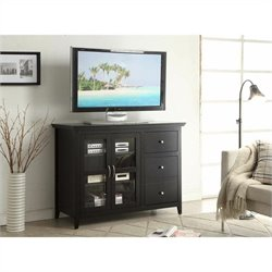 Convenience Concepts Designs2Go Sierra Highboy TV Stand - Black