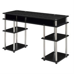 Convenience Concepts Designs2Go No Tools Student Desk - Black
