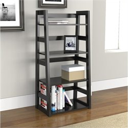 Convenience Concepts Designs2Go Trestle Bookcase - Black