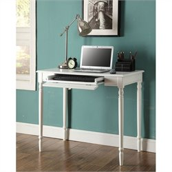 Convenience Concepts French Country Desk - White