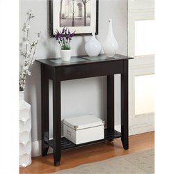 Convenience Concepts Carmel Hall Table - Black