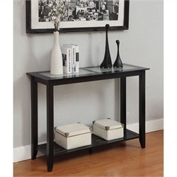 Convenience Concepts Carmel Console Table - Black