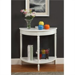 Entryway Table - White