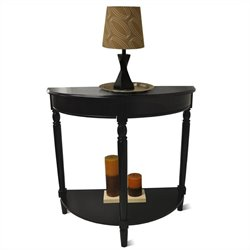 Convenience Concepts French Country Entryway Table - Black