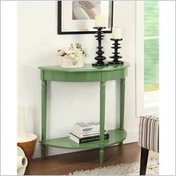 Convenience Concepts French Country Entryway Table - Green