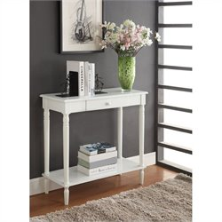 Hall Table - White