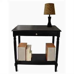 Convenience Concepts French Country Hall Table - Black