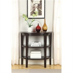 Convenience Concepts Newport 3 Shelf Console - Espresso