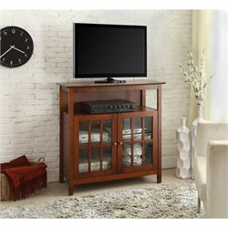 Big Sur Highboy TV Stand - Cherry