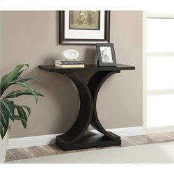 Convenience Concepts Newport Infinity Console Table - Espresso