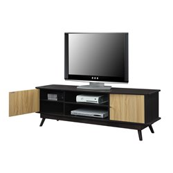 Convenience Concepts Designs2Go Key Largo TV Stand in Light Oak