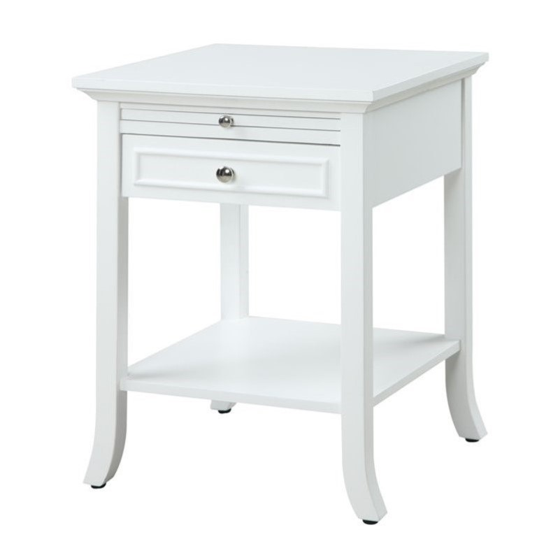 End table in white 7102045w for White end tables