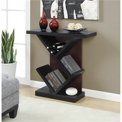 Bistro Console Table in Black