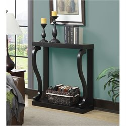 Convenience Concepts Newport Gramercy Console Table in Espresso