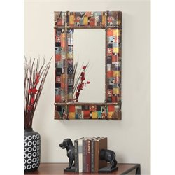 Convenience Concepts Rio Rectangular Mirror in Multicolor