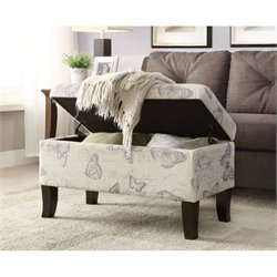 Convenience Concepts Designs4Comfort Winslow Ottoman in Butterfly