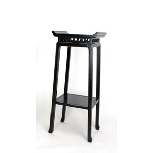 Wayborn Chow Plant Stand in Antique Black