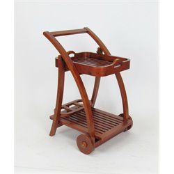 Wayborn Serving Tray Stand in Brown