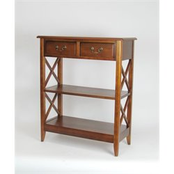 Wayborn Eiffel Console Table in Brown
