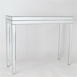 Wayborn Beveled Mirrored Console Table