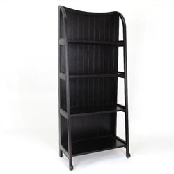 Wayborn Basswood Display Stand in Antique Black