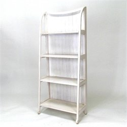 Wayborn Basswood Display Stand in Whitewash