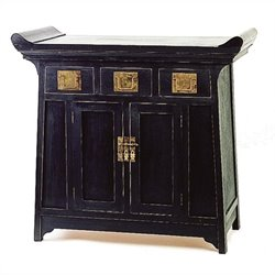 Alter Cabinet in Antique Black