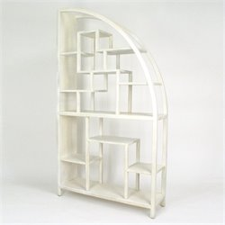 Wayborn Hangchu Display Unit in Whitewash