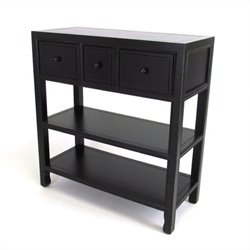 Console in Antique Black