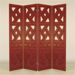 Room Divider in China Red