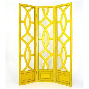 Room Divider in Yellow