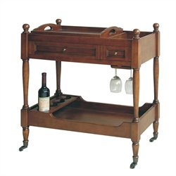 Serving Cart in Brown