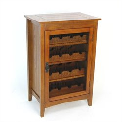 Wayborn Hugo Wine Cabinet in Oak