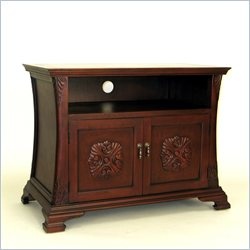 Wayborn Medallion TV Cabinet in Brown