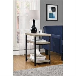 Altra Furniture Elmwood End Table in Sonoma Oak