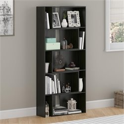 Altra Furniture Transform Expandable Bookcase in Midnight Onyx