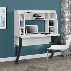 Altra Furniture Eden Wall Mounted Desk in White