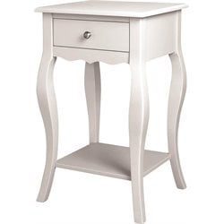 Altra Furniture Kennedy End Table in White