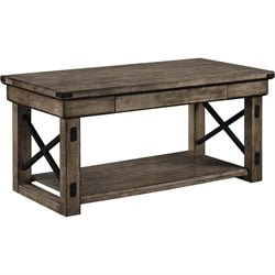 Altra Furniture Wildwood Coffee Table in Rustic Gray