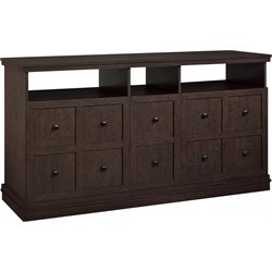 Altra Furniture Cooper Apothecary 55'' TV Stand in Espresso