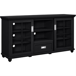 Altra Furniture Aaron Lane 55'' TV Stand in Black