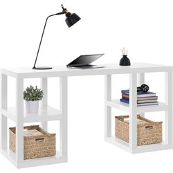 Altra Furniture Parsons Deluxe Writing Desk in White